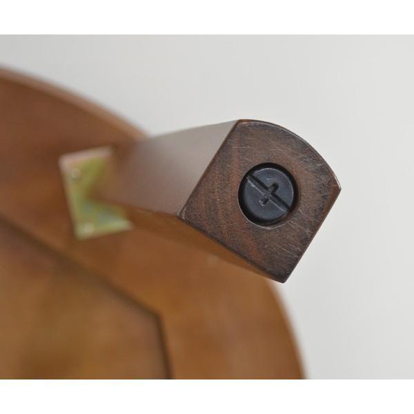 アウトレット 在庫限り 丸テーブル 110 ダイニングテーブル L4D-368-siaz ミドルブラウン色  円形テーブル  木製 おしゃれ so|takara21|03