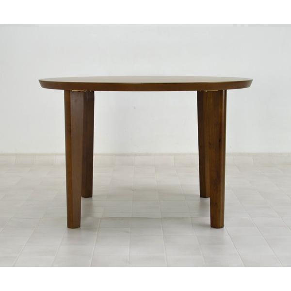 アウトレット 在庫限り 丸テーブル 110 ダイニングテーブル L4D-368-siaz ミドルブラウン色  円形テーブル  木製 おしゃれ so|takara21|04