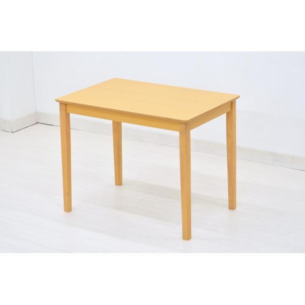 幅90cm×60cm ダイニングテーブル pot-360  ダークブラウン色 ナチュラル色 コンパクト ミニテーブル ダイニング スリム 木製 アウトレット|takara21|05