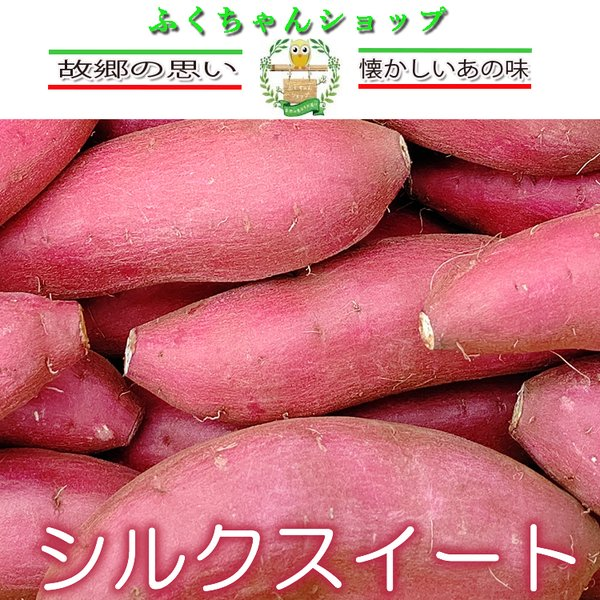 熊本県産さつまいも シルクスイート(生) 20kg