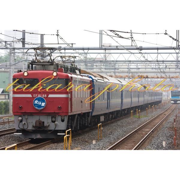 鉄道写真EF81寝台特急北斗星2L版サイズ商品コード3−0007−2L|takaracom