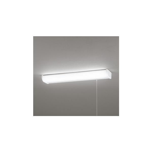 ★オーデリック OB255232 LEDキッチンライト 引きヒモスイッチ付 非調光 昼白色 FL20W相当 照明器具 キッチン向け 壁面 棚下面取付兼用