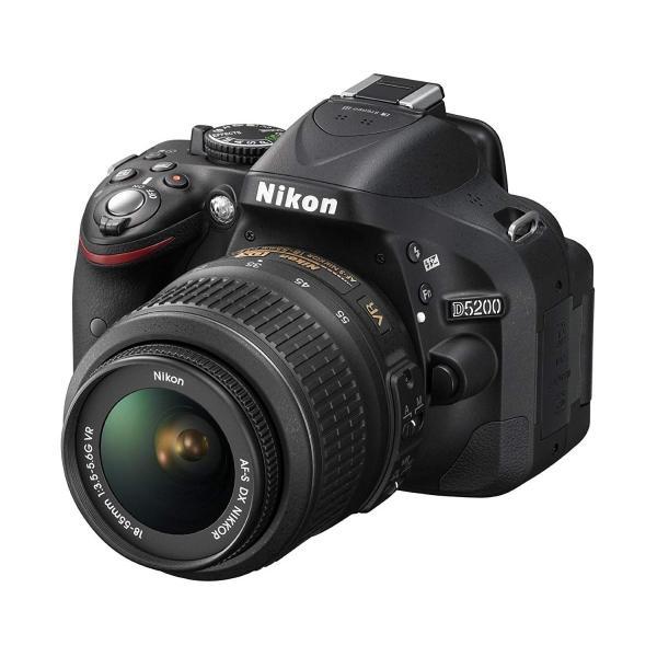 ニコン Nikon D5200 AF-S 18-55mm 手振れ補正レンズキット 中古 デジタル一眼レフ カメラ