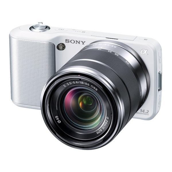 ソニー SONY NEX-3 18-55mm OSS ズーム レンズキット ミラーレス一眼 カメラ 中古