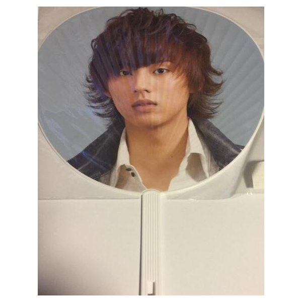 Kis-My-FT2 (キスマイ)・・【公式うちわ】/藤ヶ谷太輔 Mint Tour 2012 Concert・コンサート会場販売グッズ