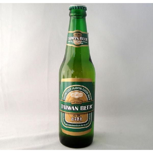 台湾ビール瓶プレミアム(金牌)330ml/本