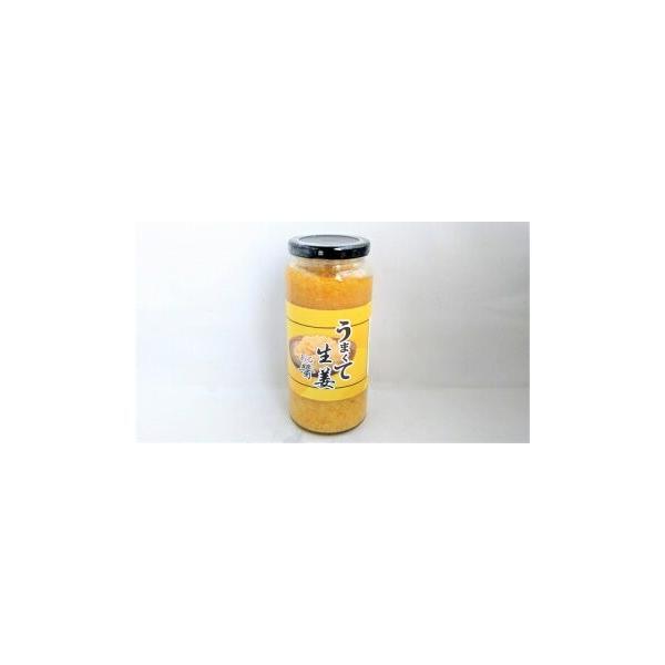 うまくて生姜ある醤(味付おろし生姜)480g/1本 中国産しょうがペースト