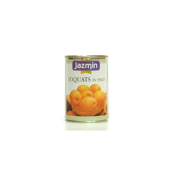 ジャスミン ルカット(びわ)425g/缶 フルーツ缶詰 スペイン産
