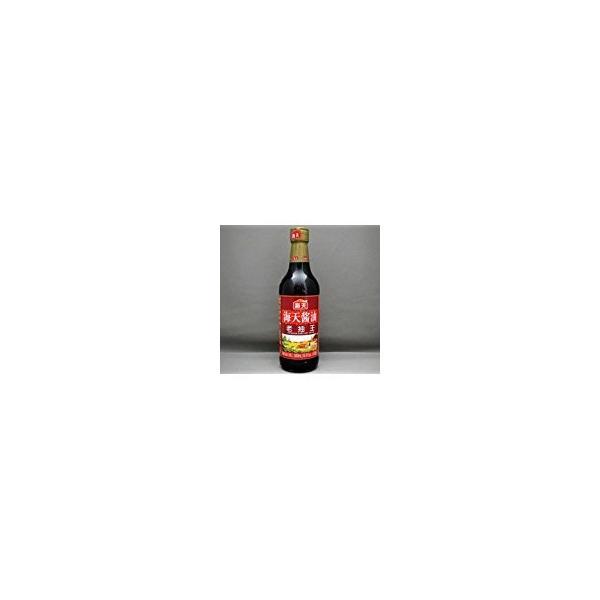 海天醤油 老抽王500ml/瓶【たまり醤油 濃口しょうゆ】中国醤油