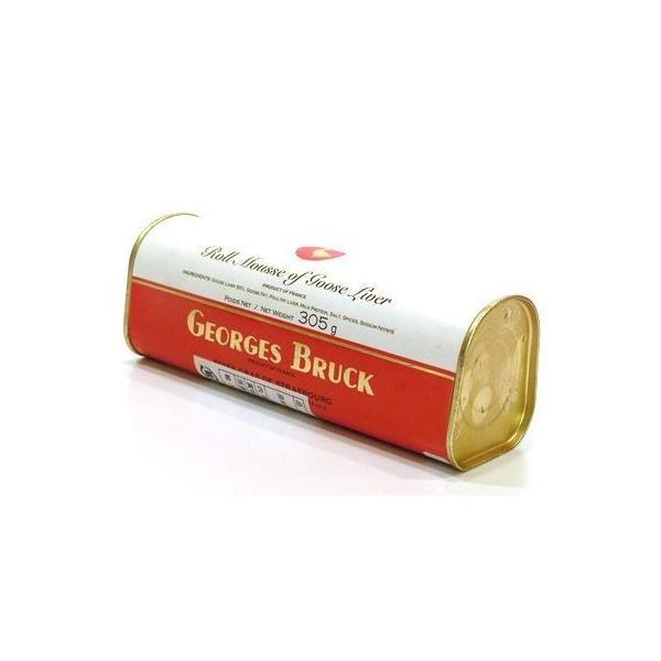 (代引不可 全国送料無料)ジョルジュブルック ムースフォアグラ 305g×【2缶セット】 フランス産