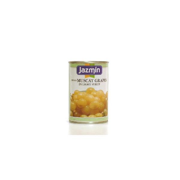 ジャスミン ネオマスカット(種入り)425g/1缶 フルーツ缶詰 スペイン産(ブドウの品種)