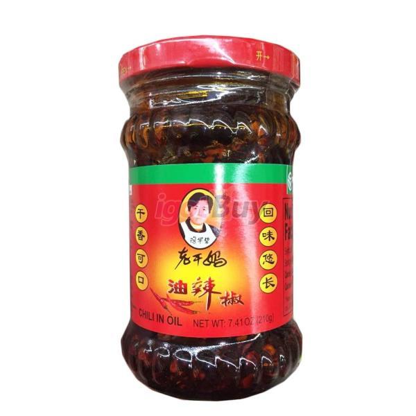 (代引不可/全国送料無料)老干媽 花生油辣椒275g/瓶  ピーナッツ具入りラー油