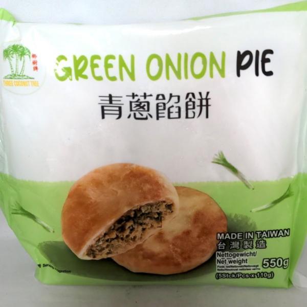 冷凍便 青葱餡餅(ネギパイ・塩味)110g×5枚入シェンービン台湾産中華点心