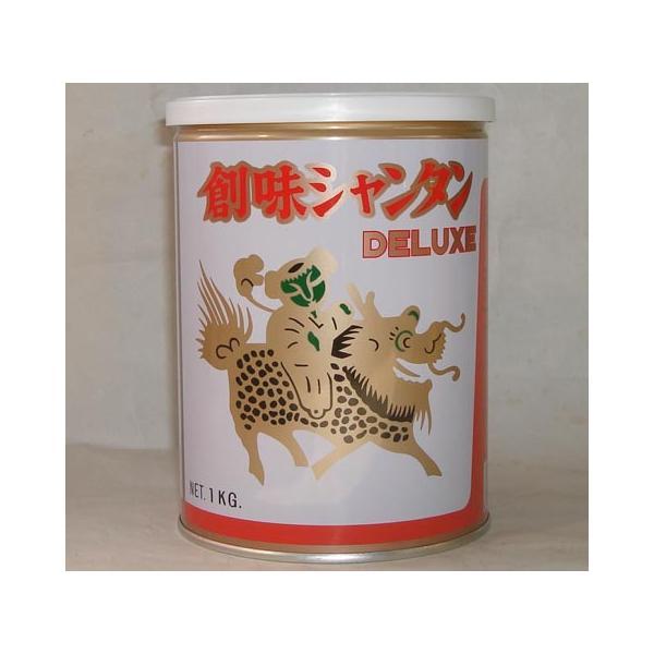 創味シャンタン デラックス DX 1kg/缶 (他に代引不可 全国送料無料の登録あり創味食品高級中華スープの素