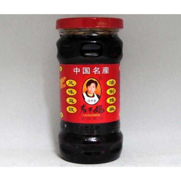 (代引不可)老干媽 風味豆鼓油制辣椒 280g/24瓶セット 辛口 発酵黒豆具入りラー油食べるラー油
