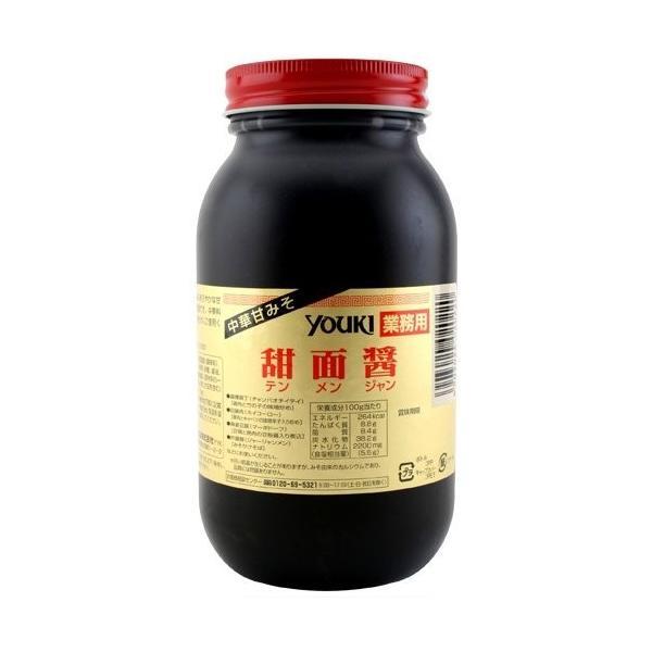(代引不可/全国送料無料0)ユウキ食品 甜麺醤1kg/1瓶【テンメンジャン 甜面醤】黒あまみそ