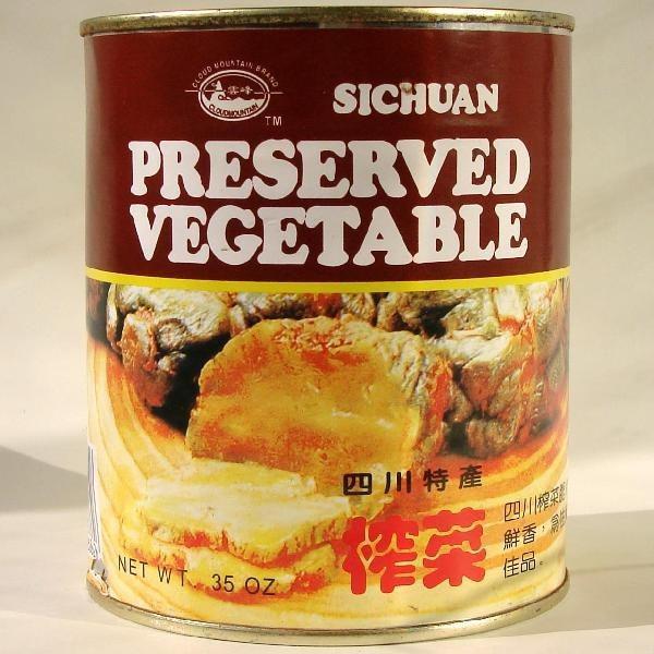 (送料無料/代引不可)四川搾菜 全形1kg/缶詰 四川ザーサイ ホール 業務用
