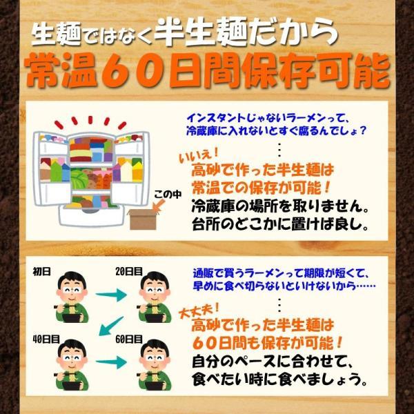 青森にんにくラーメン お試し3食 醤油味 ご当地ラーメン 常温60日間保存 メール便 送料無料 ポイント消化 ペイペイ|takasago-mejya|07