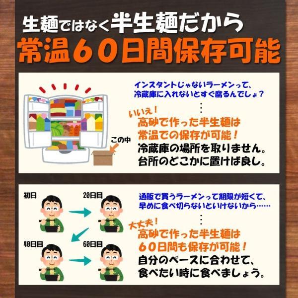 青森味噌カレーラーメン 家庭用8食 半生麺 常温保存OK  トッピングわかめ付きB級グルメ 送料無料 takasago-mejya 05