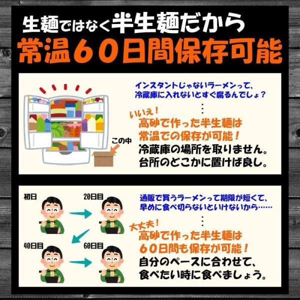 濃厚魚介つけ麺 家庭用4食 ラーメン お取り寄せ【メール便・送料無料】|takasago-mejya|04