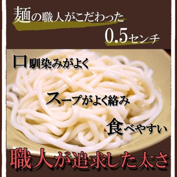 送料無料 青森なべ焼うどん 10食 常温保存 100日 お取り寄せ鍋 セット 天ぷら 麩 付き|takasago-mejya|05