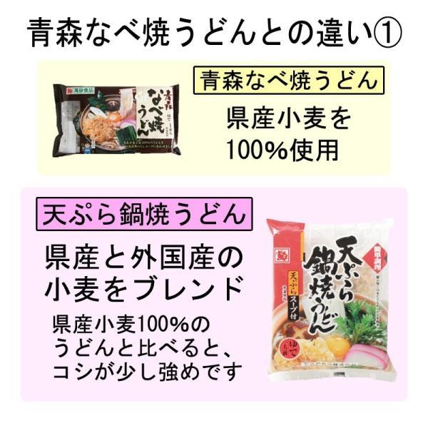 天ぷら鍋焼うどん 1ケース10食 ゆで麺 サクサク 送料無料|takasago-mejya|07