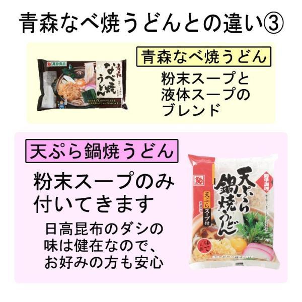 天ぷら鍋焼うどん 1ケース10食 ゆで麺 サクサク 送料無料|takasago-mejya|09