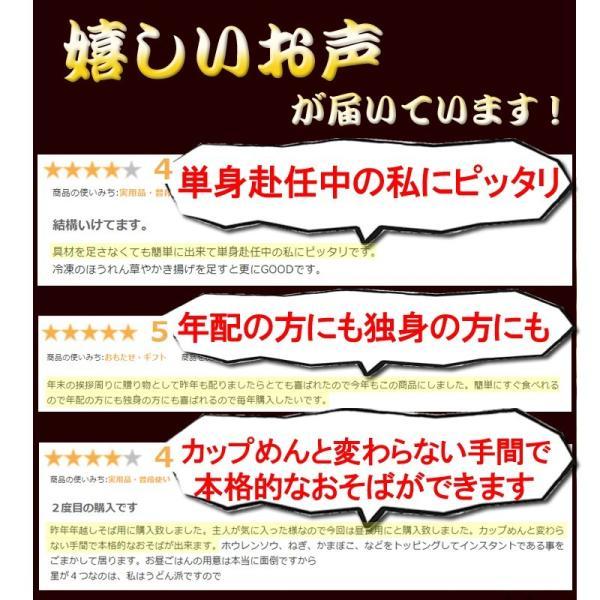 天ぷらそば 1ケース 10食 ご当地そば 天ぷら 常温100日間保存 冬季限定 高砂食品|takasago-mejya|07
