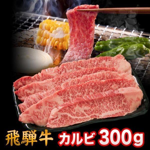 飛騨牛 A5 A4 ランク 牛肉 焼き肉用 ギフト 焼肉 牛 カルビ 300g 2人前
