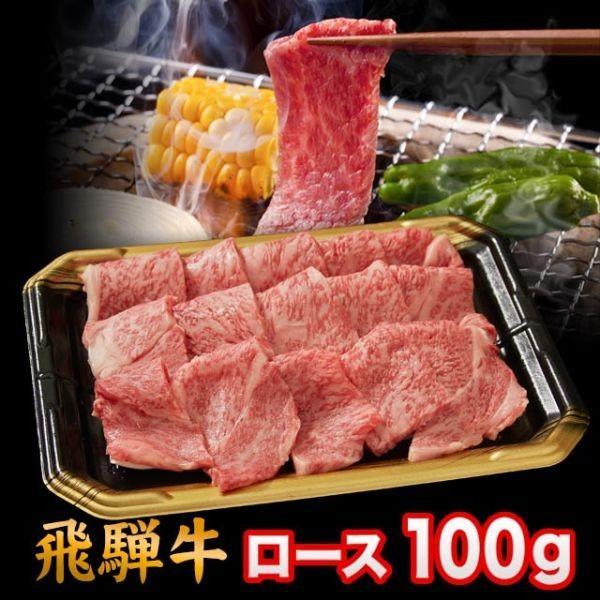 飛騨牛 A5 A4 ランク 牛肉 和牛 国産 焼き肉用 ギフト 焼肉用 牛 ロース 100g