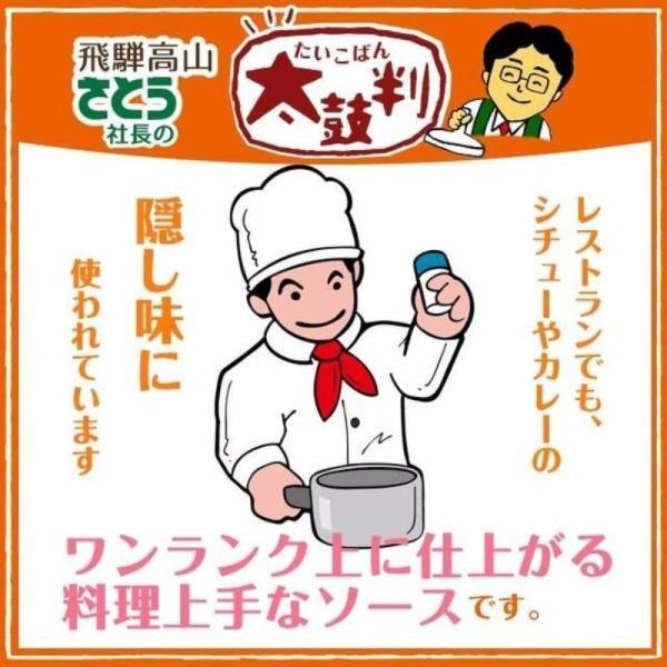 清見ソース300g 3本セット 飛騨高山 道の駅で人気 お好み焼き ソースライス ハンバーグ フライに 野菜のうまみ|takayamasatou|02