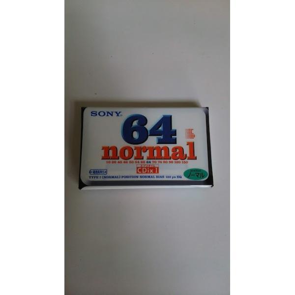 カセットテープ 生テープ 録音 ソニー SONY ノーマル CDix64