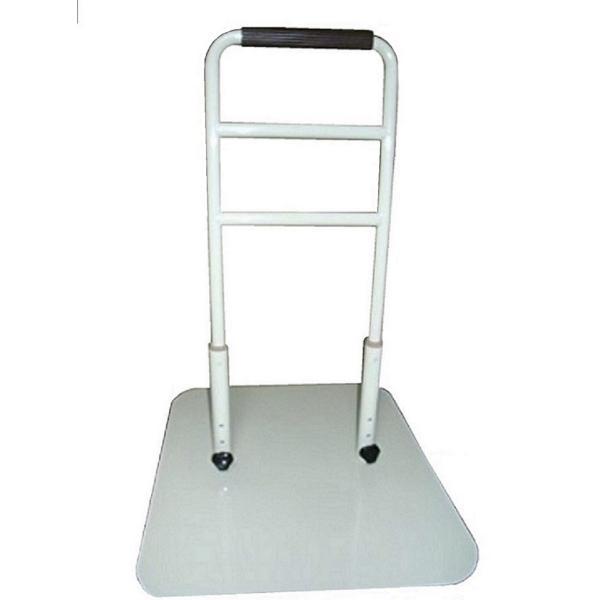 立つ之助 愛 立ち上がり補助手すり 介護 ベッドなど高さ3段階調整 倒れない安心感 スチール素材 オフホワイト 日本製 |takei-co|04