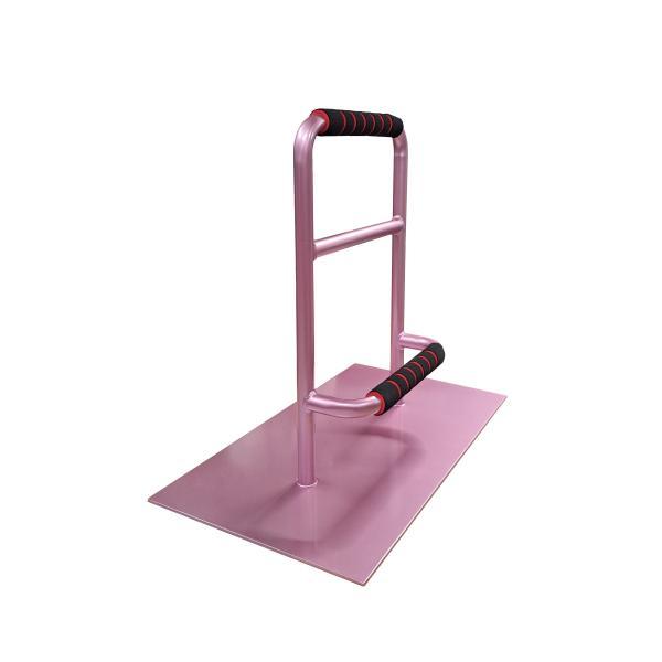 立つ之助 元気 立ち上がり補助手すり 掴まる所が2つで便利 介護 布団 和室 座敷 など スチール素材 あずき色 日本製|takei-co