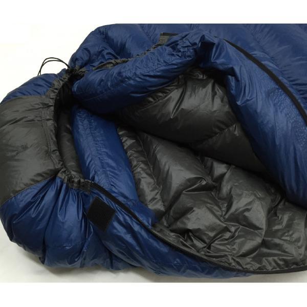 寝袋 シュラフ タケモ Takemo スリーピングバッグ 7 ストリージバッグ付 登山 秋用 冬用|takemo|02