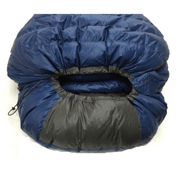 寝袋 シュラフ タケモ Takemo スリーピングバッグ 7 ストリージバッグ付 登山 秋用 冬用|takemo|03