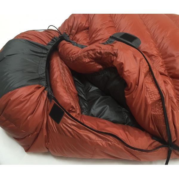 寝袋 シュラフ タケモ Takemo スリーピングバッグ 11 ストリージバッグ付 登山 冬用|takemo|02