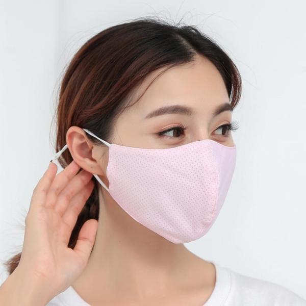 送料無料接触冷感マスク 大人用マスク 洗える 2枚セット ひんやり 夏用マスク 繰り返し使える 涼しいマスク 布 水洗いOK  大人用 UVカット 立体 日焼け|takeoff-inc|03