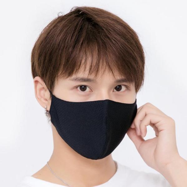 送料無料接触冷感マスク 大人用マスク 洗える 2枚セット ひんやり 夏用マスク 繰り返し使える 涼しいマスク 布 水洗いOK  大人用 UVカット 立体 日焼け|takeoff-inc|05