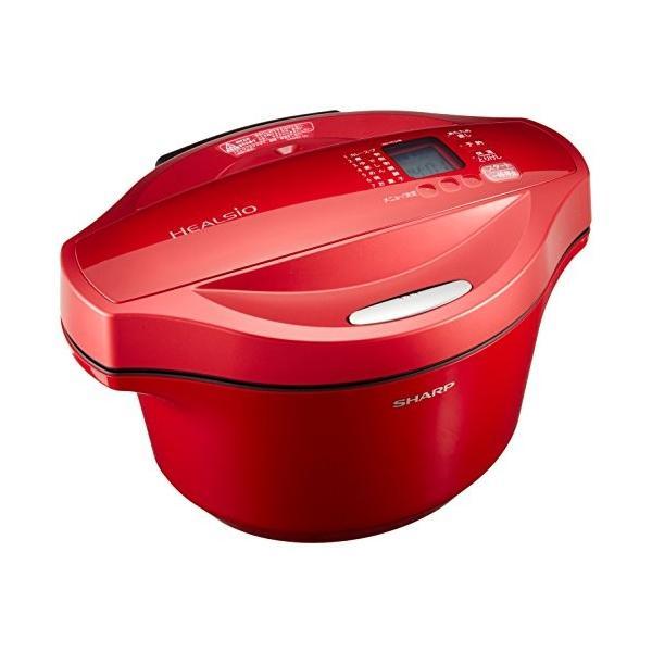 シャープ ヘルシオ(HEALSIO) ホットクック 水なし自動調理鍋 2.4L 大容量タイプ レッド KN-HT24B-R|takes-shop|04