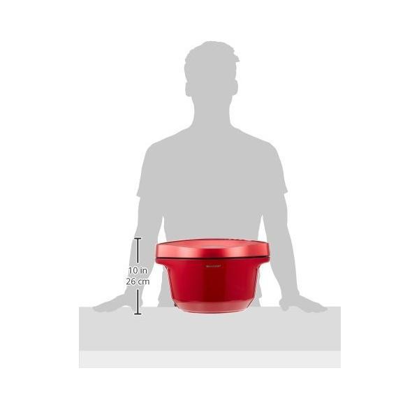 シャープ ヘルシオ(HEALSIO) ホットクック 水なし自動調理鍋 2.4L 大容量タイプ レッド KN-HT24B-R|takes-shop|07