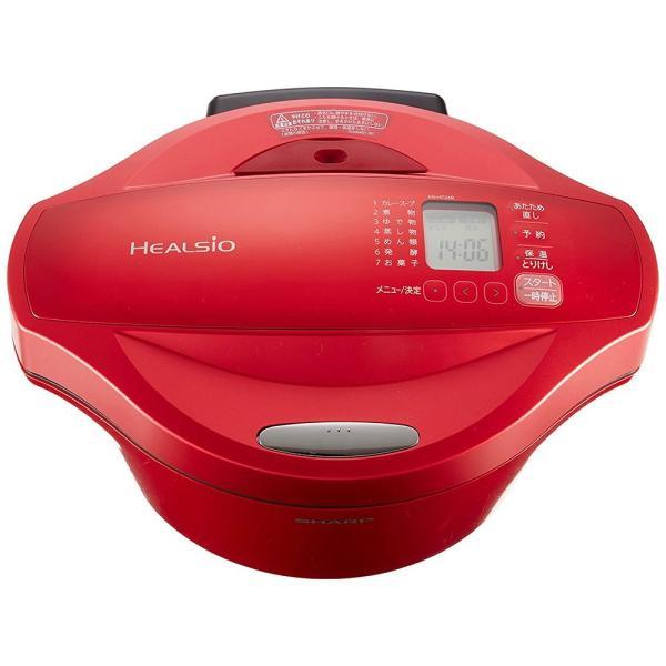 シャープ ヘルシオ(HEALSIO) ホットクック 水なし自動調理鍋 2.4L 大容量タイプ レッド KN-HT24B-R|takes-shop|08