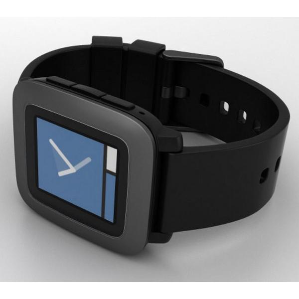Pebble Time スマートウォッチ 腕時計 (ブラック) 並行輸入品