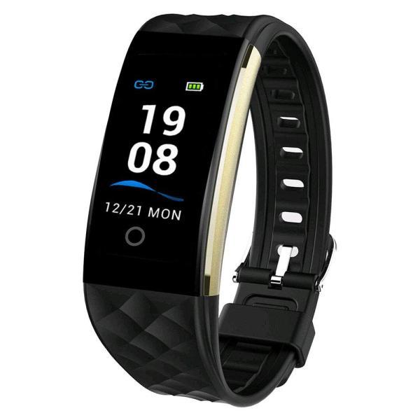 スマートブレスレット Tustyle 改良版 スマートウォッチ IP67防水 ウェアラブルスマートウォッチ 腕時計?天気表示 心拍計 歩数計