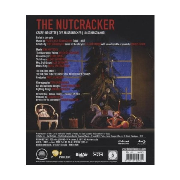 Nutcracker Blu-ray Import