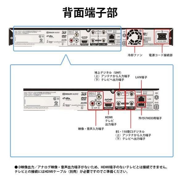シャープ 2TB 2チューナー AQUOS ブルーレイレコーダー BD-NW2000
