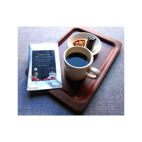 エクーア シベットコーヒー 豆 100% フィリピン産ジャコウネココーヒー(コピルアク) (100gアラビカ種)|takes-shop|04