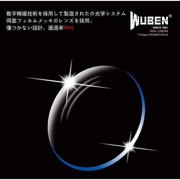 WUBEN T102 Prometheus・Cree XHP70・超高輝度・3500ルーメン 高輝度 ハイ・パワー アウトドア ハンディライ