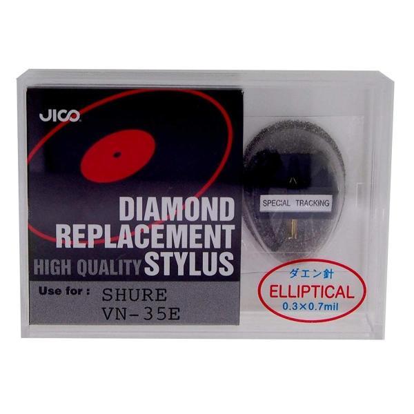 JICO レコード針 SHURE VN35E用交換針 楕円針 A040610