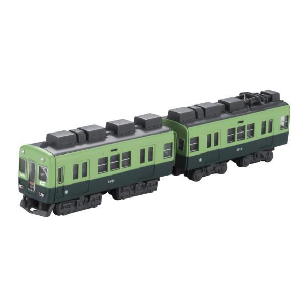 Bトレインショーティー 京阪電車 2400系 1次車 旧塗装 (先頭+中間 2両入り) プラモデル|takes-shop|03